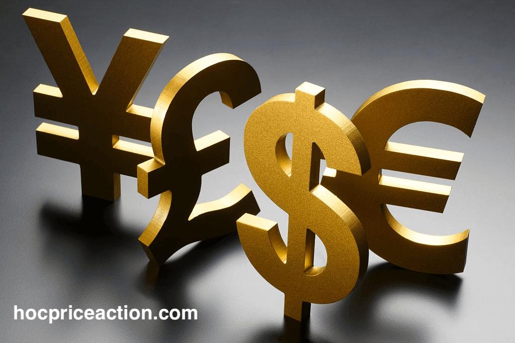 các đồng tiền tệ chính giao dịch trong forex