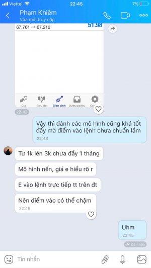 cam nhan hoc vien ve sach price action nang cao